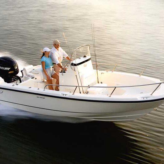 Boston Whaler Fishing Boat